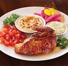 Quarter Rotisserie White Chicken Plate