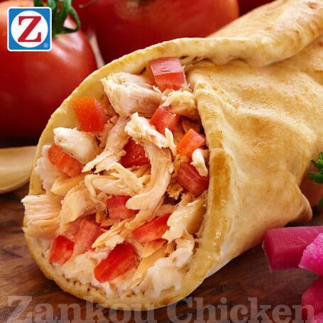 Rotisserie Chicken Wrap