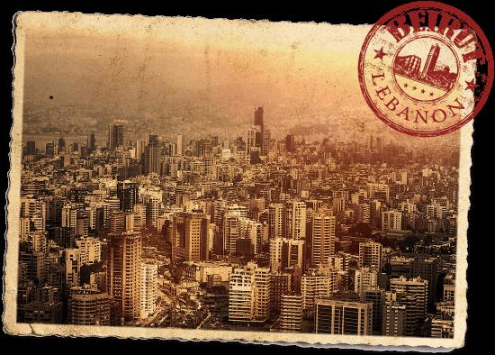 Beirut-Postcard