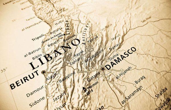 Falafel-Lebanon-Map