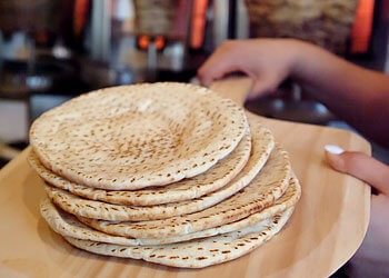 Pita Bread fresh from the oven