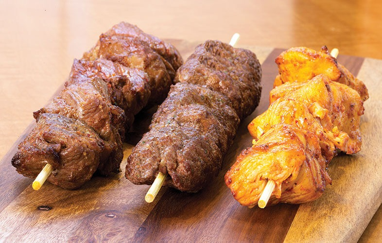 3 Kabob Skewers a la carte