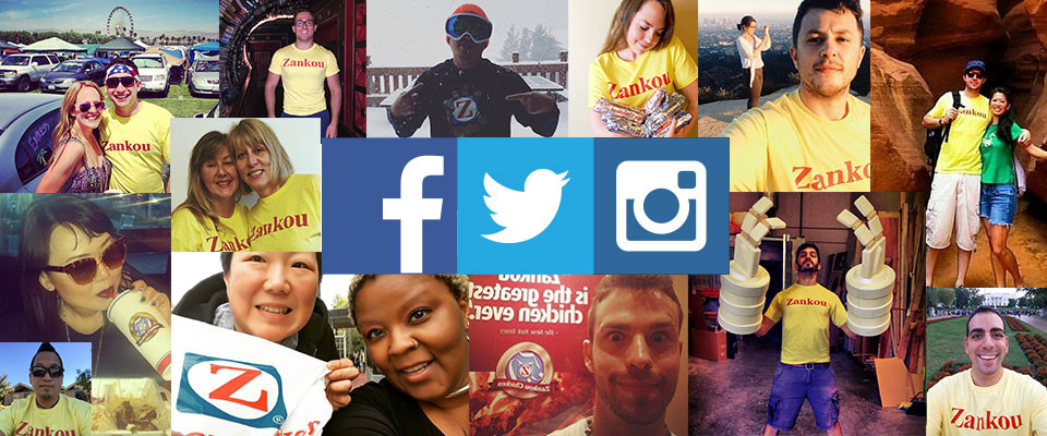 Get Social with Zankou in 2016.