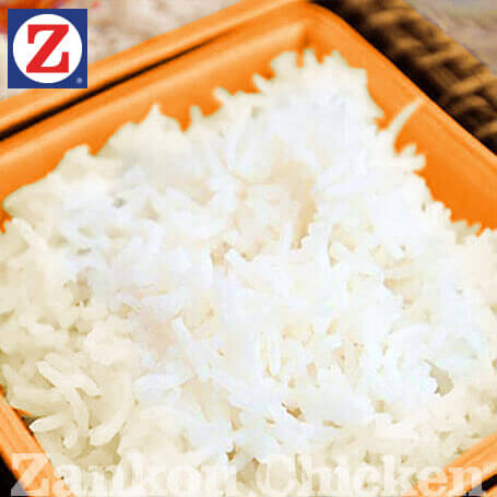 Close-up of basmati rice