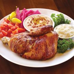 PLATE: Half Chicken