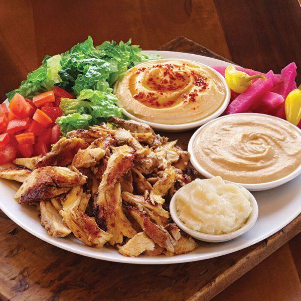 11. Chicken Tarna® Plate