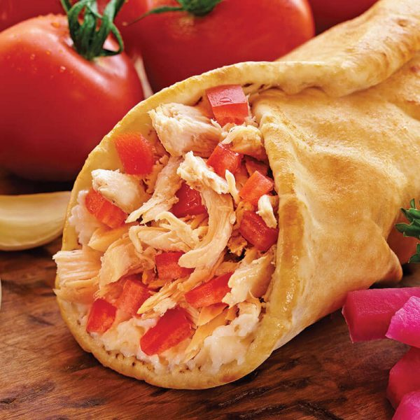 6. Roasted Chicken Wrap